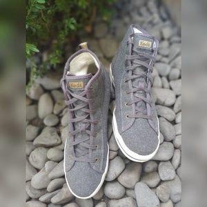 Keds Fleece High Top Sneakers